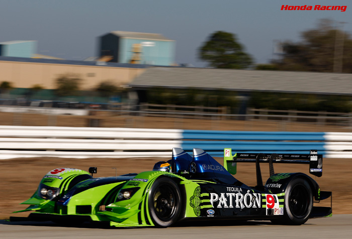 #9 PATRÓN HIGHCROFT RACING / ACURA ARX-02a (LMP1)